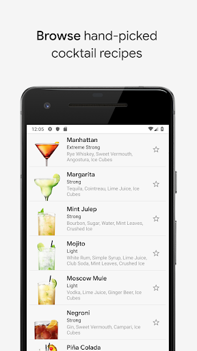 Cocktail Flow - Drink Recipes 2.2.1 Screenshots 2