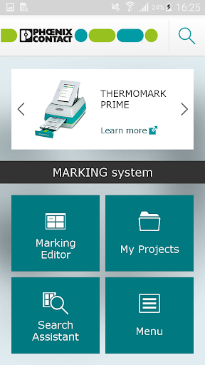 PHOENIX CONTACT MARKING system 3.0 screenshots 1