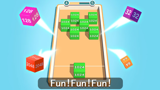 2048 3D: Shoot & Merge Number Cubes, Block Puzzles Screenshots 16