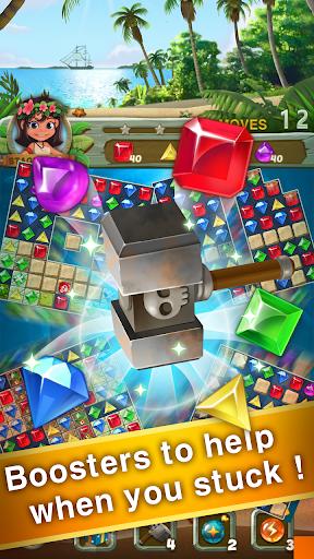 Paradise Jewel: Match 3 Puzzle  screenshots 12