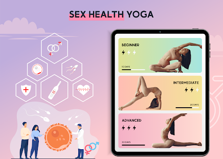 Sex health Yoga & Exercise - Last Longer in Bed