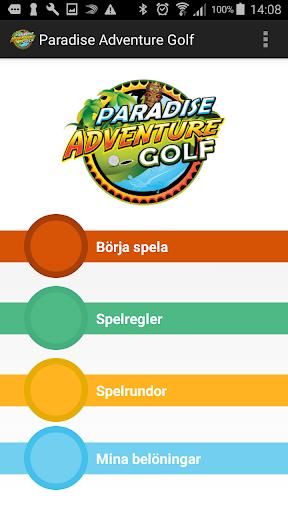 paradise adventure golf screenshot 1