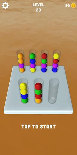 Sort Balls 3D - Free puzzle games  screenshots 1