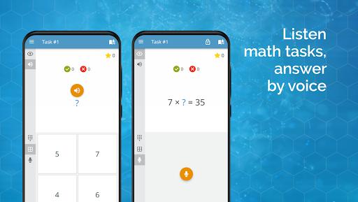 Math games: arithmetic, times tables, mental math  Screenshots 7