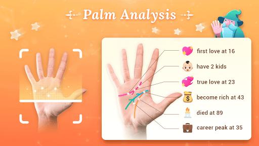 Palm Secret - Palm Reader, Cartoon Photo, Fun android2mod screenshots 1