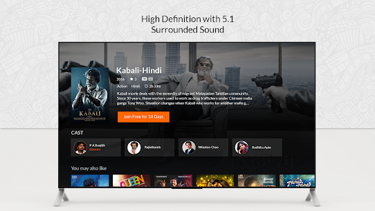 YuppFlix –Indian Movies and Shows for AndroidTV 4