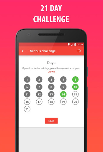 Lose Weight In 21 Days - Weight Loss Home Workout 3.0.0.4 Screenshots 4