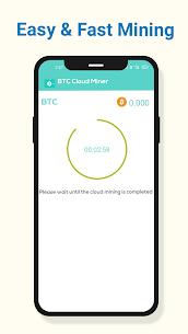 BTC Cloud Miner Pro Apk – Free Mobile Bitcoin Mining Pro APK ** 2021 NEW 3