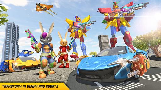Bunny Jeep Robot Game: Robot Transforming Games  Screenshots 1