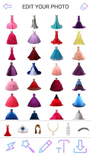 Princess Dress Photo Maker 2019  Screenshots 1