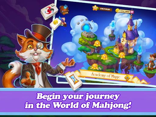 Offline Mahjong: Magic Islands No WiFi 91 screenshots 4