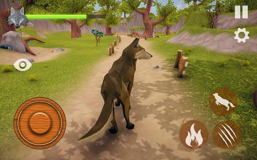 the wolf simulator 3d: animal family tales screenshot 2