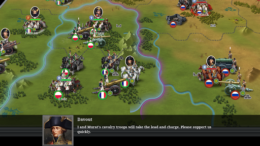 European War 6: 1804 - Napoleon Strategy Game 1.2.26 screenshots 1