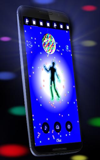 Disco Light: Flashlight with Strobe Light & Music 4.5 Screenshots 1