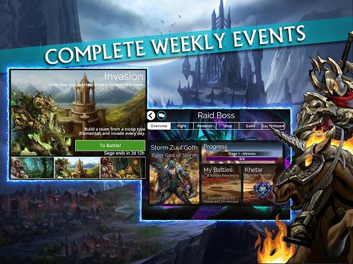 Gems of War - Match 3 RPG screenshots 16