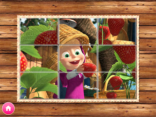 Masha and the Bear. Educational Games 5.5 screenshots 9