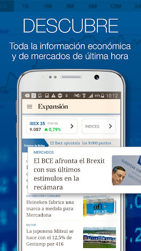 Foto do Expansión - IBEX y Economía