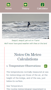 Meteo Calculator