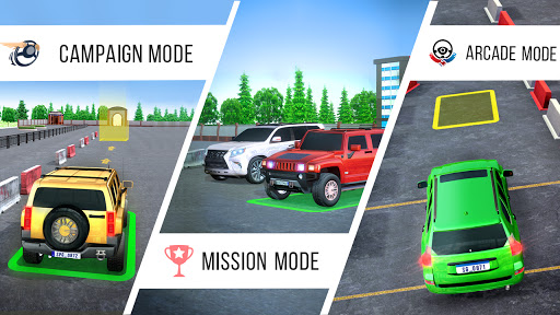 Real Prado Car Parking Games 3D: Driving Fun Games modavailable screenshots 12