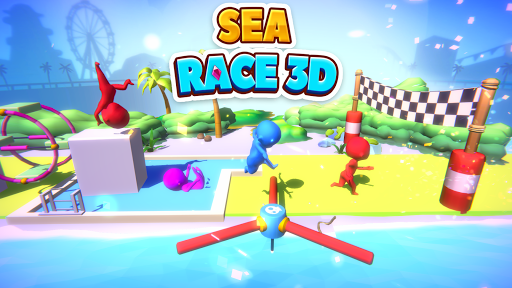 Sea Race 3D - Fun Sports Game Run 3D: Water Subway  Screenshots 6