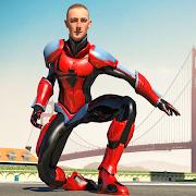 Flying Spider Super Hero - Vegas Crime City Battle