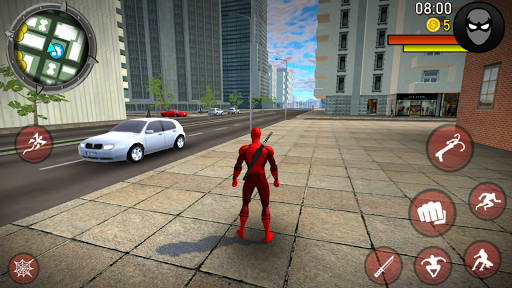 POWER SPIDER - Ultimate Superhero Parody Game apktram screenshots 3