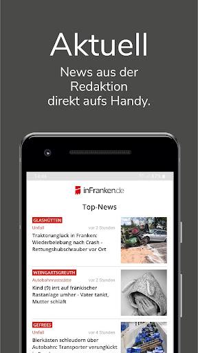 inFranken.de - lokale News & Informationen 3.3.5 screenshots 1