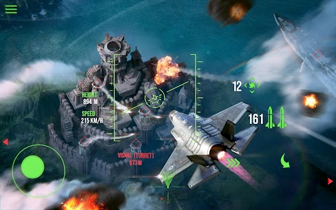 Modern Warplanes: Sky fighters – Mod, Unlimited Rockets | APK Download 5