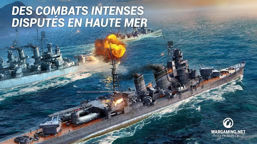Code Triche World Of Warship Blitz: Jeu de Bataille Navale (Astuce) APK MOD screenshots 3