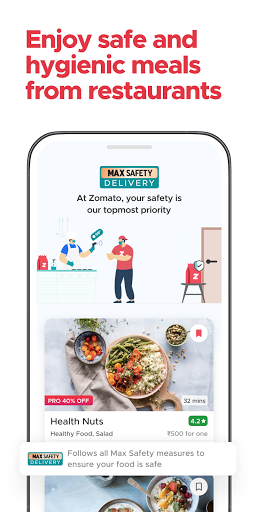 Zomato - Online Food Delivery & Restaurant Reviews android2mod screenshots 4