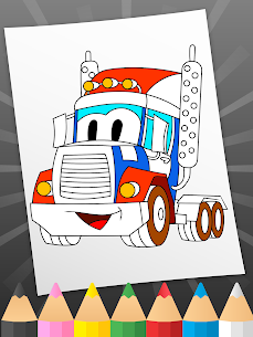 Çocuklar için boyama arabaları Apk İndir 3