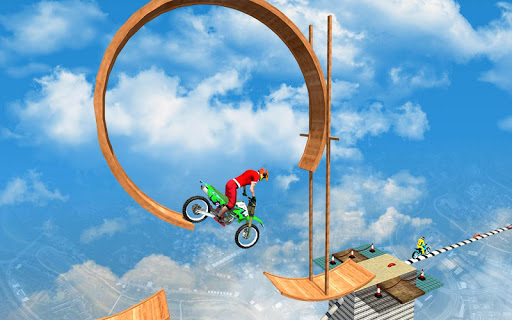 Sky bike stunt 3d   Bike Race u2013 Free Bike Games screenshots 5