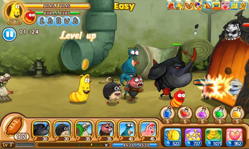 Larva Heroes: Lavengers 2.7.3 screenshots 5