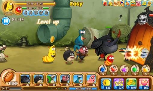 Larva Heroes: Lavenger MOD APK (Unlimited Coins) 5