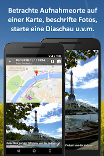 PhotoMap - Galerie für Fotos, Videos und Trips Screenshot