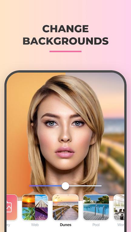 FaceApp - AI Face Editor  poster 3