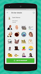 screenshot of Meme Stickers for WhatsApp