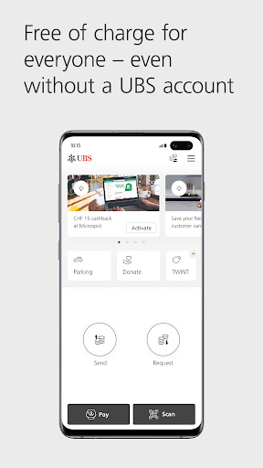 UBS TWINT: Twint even without a UBS account.  Paidproapk.com 1