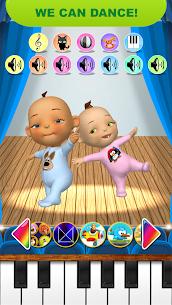 Bebek ikiz Yenidoğan Eğlence Talking Apk İndir 4