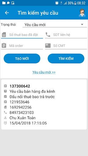 mBCCS 2.0 - Viettel Telecom 5.6.7 Screenshots 5