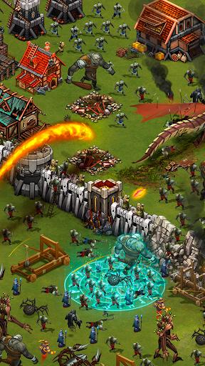 Throne Rush APK MOD – Pièces de Monnaie Illimitées (Astuce) screenshots hack proof 2