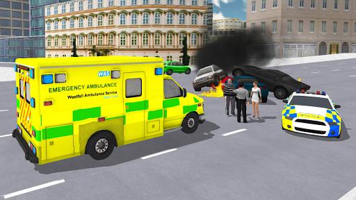 Ambulance Simulator - Car Driving Doctor screenshots 15