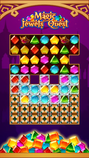 Magic Jewel Quest: New Match 3 & Jewel Games 2.0 screenshots 4