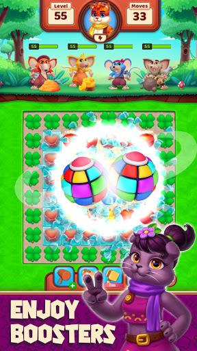 Cat Heroes - Color Match Puzzle Adventure Cat Game  screenshots 4