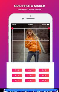 Grid Photo Maker for Instagram 9 Grid Giant Square 2.7 Screenshots 2