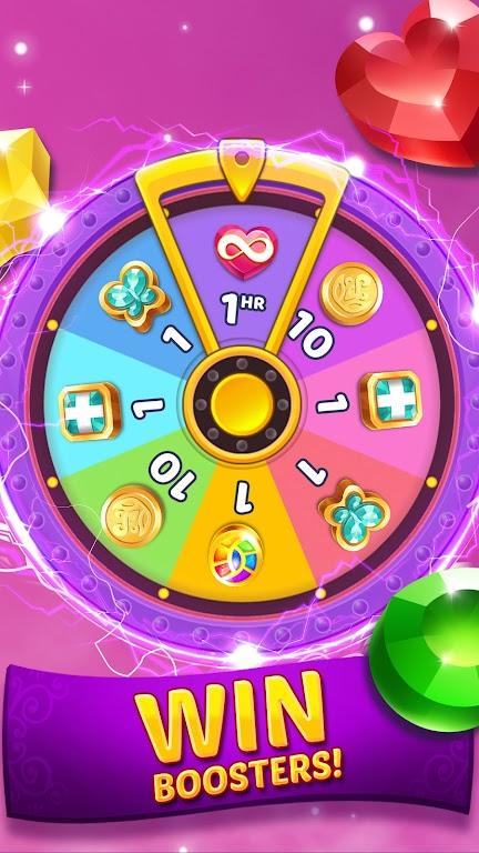 Genies & Gems - Match 3 Game poster 19