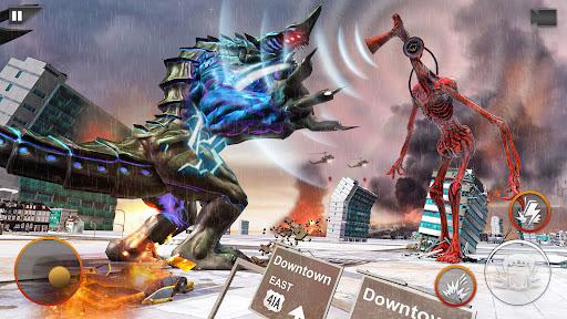 Monster Smash City - Kaiju vs Siren Head  screenshots 1