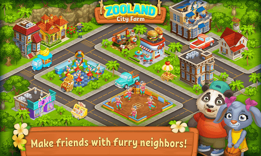 Farm Zoo: Happy Day in Animal Village and Pet City 1.40 Screenshots 5
