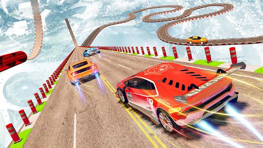 Mega Ramp Stunt Car Racing: New Car Games 2021 apklade screenshots 1