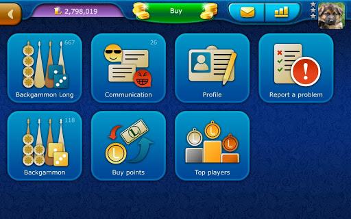 Backgammon LiveGames - live free online game 4.01 screenshots 13